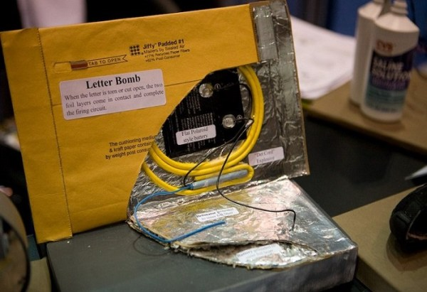 letter bomb # 2