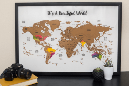 Scratch Off Map Frame K Pictures K Pictures Full HQ Wallpaper - Scratch map frame