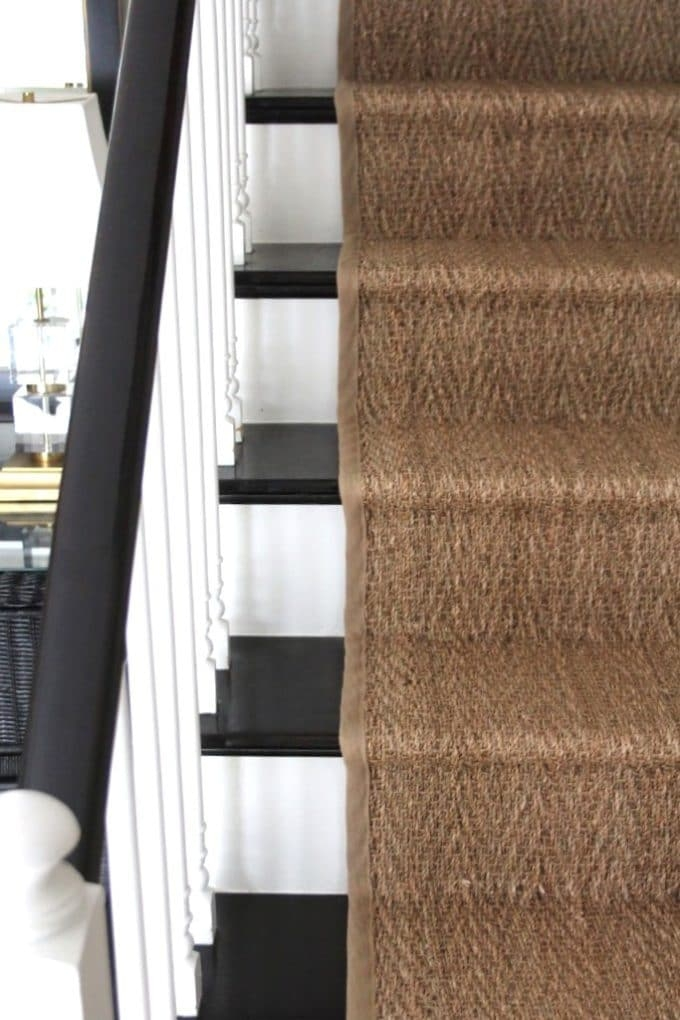 How To Install A Seagrass Stair Runner Shine Your Light | Carpet Stair Runners Near Me | Stair Treads | Wood | Flooring