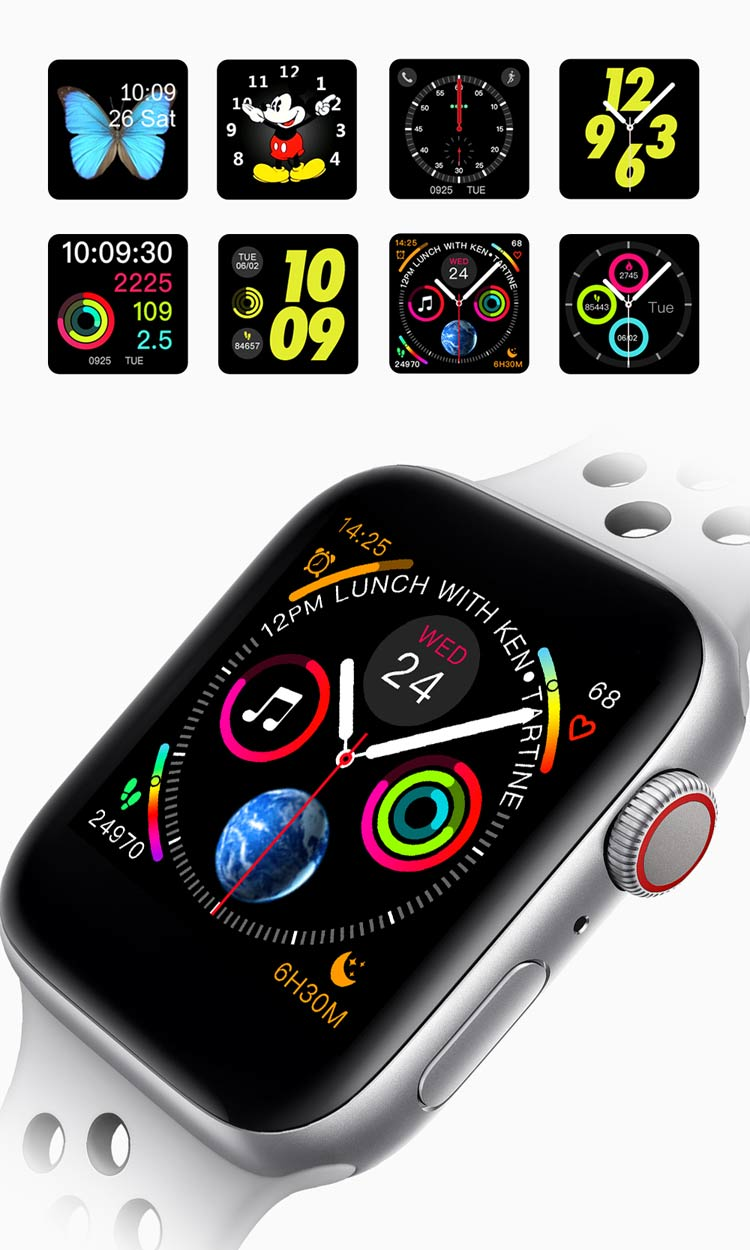 Iwo 8 2019 Version Smart Watch Apple Watch Series 4 44mm