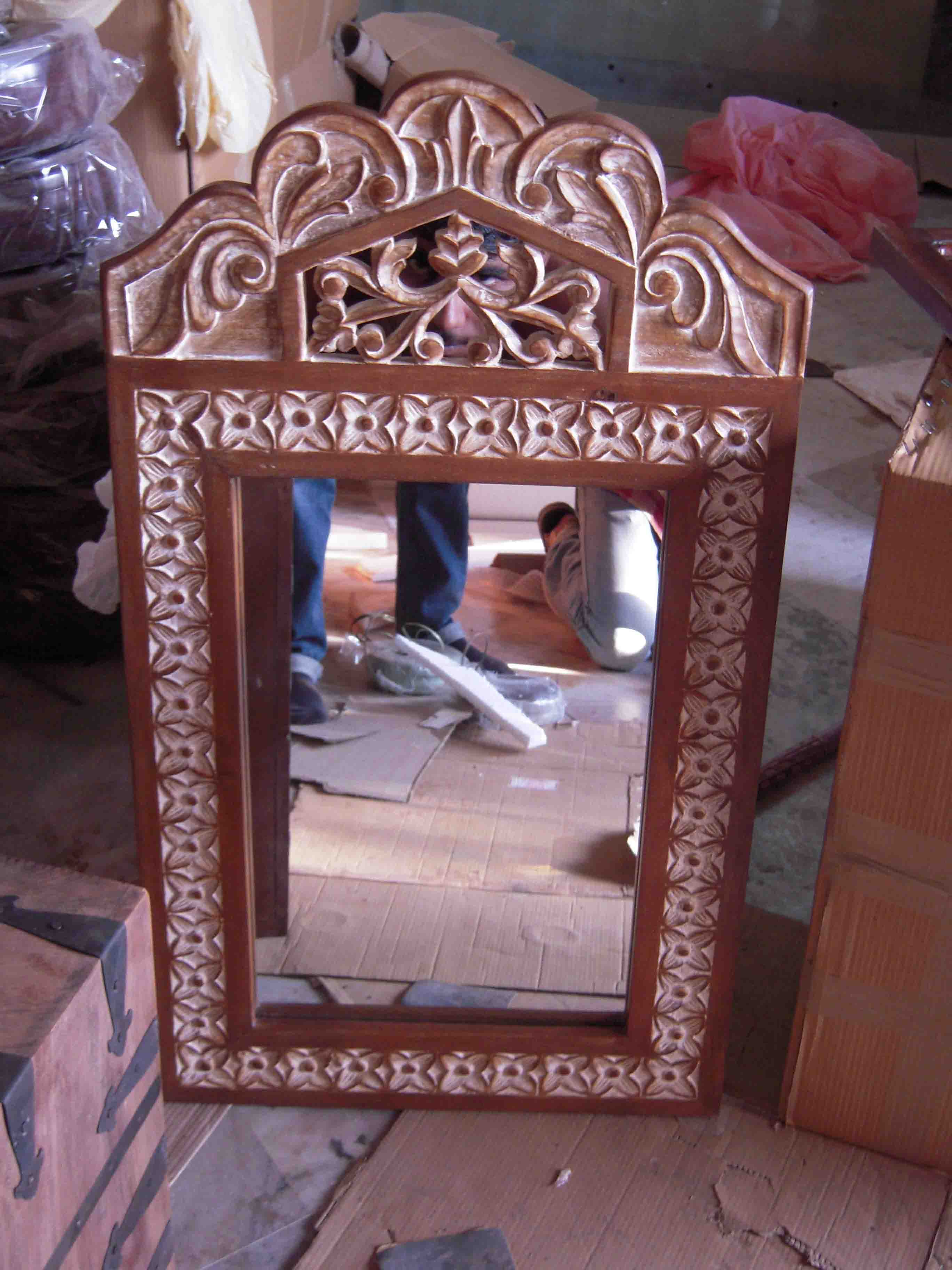 Indian Mirror Frames Antique Wooden Mirror Frame