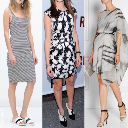 What Color Shoes to Wear with Black and White Dress Black   White Shoes  What Color Shoes to Wear with Black and White Dress