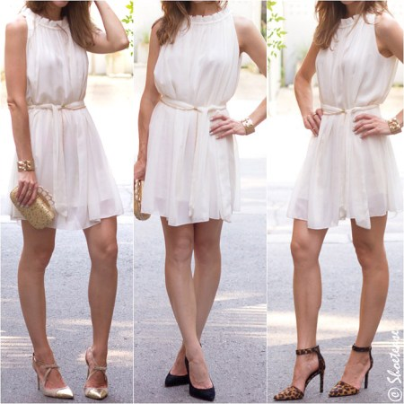 Shoes to Wear with White Dress Labor Day  Shmabor Day     Shoes to Wear with a White Dress