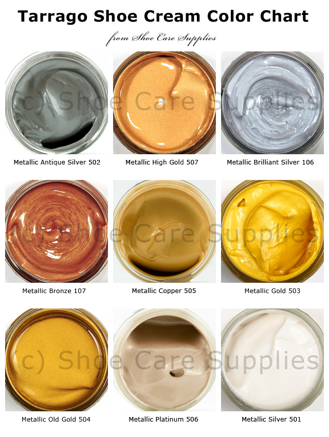 Meltonian Shoe Polish Color Chart