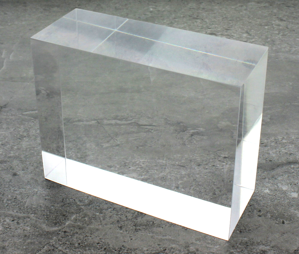 Plastic Mounting Block White