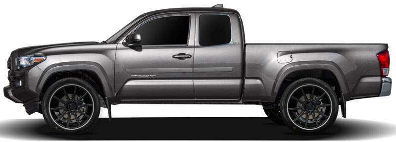 Toyota Tacoma Middle Door Painted Body Side Moldings 2005