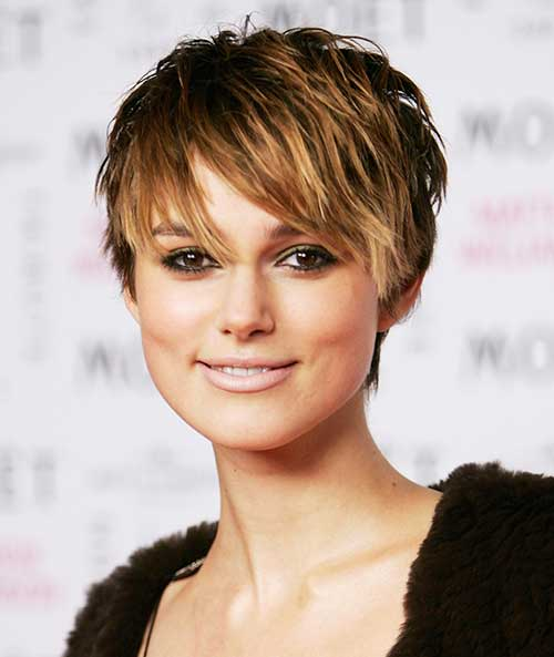 Keira Knightly Pixie Cut