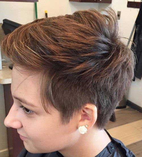 Really Short Pixie Cuts Front And Back