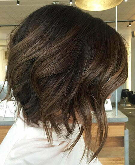 Hair Highlights Grey Short