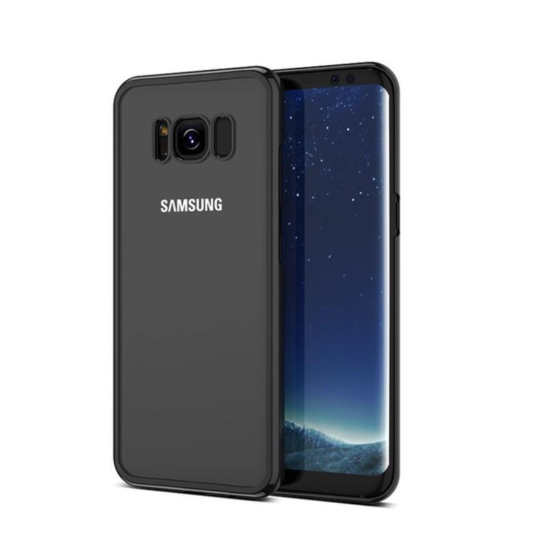 Coque Silicone Contour Samsung Galaxy S8 Plus Chrom 233