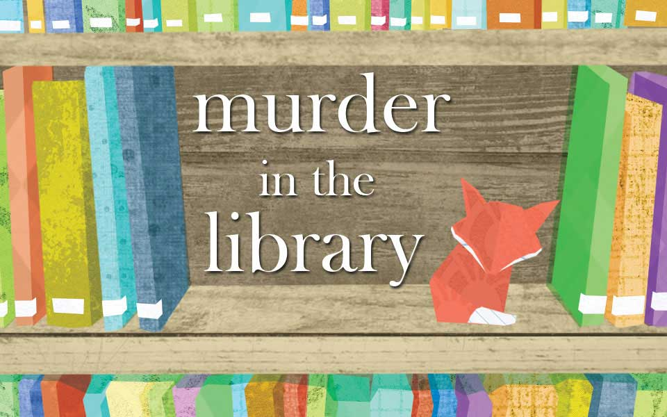 Murder In The Library Murder Mystery Game For 6 12 Kids