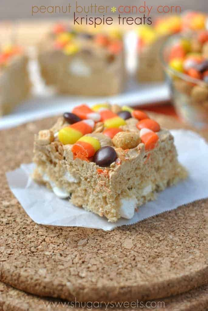 Rice Krispie Treats With Peanuts
