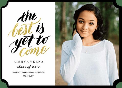 High School Invitations