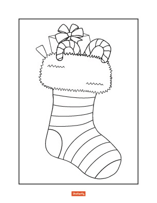 christmas coloring pages for preschoolers # 6