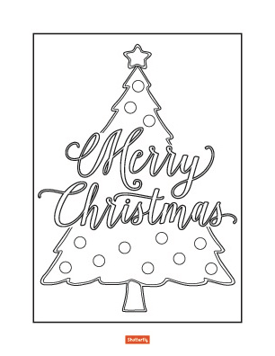 coloring pages of christmas trees # 61