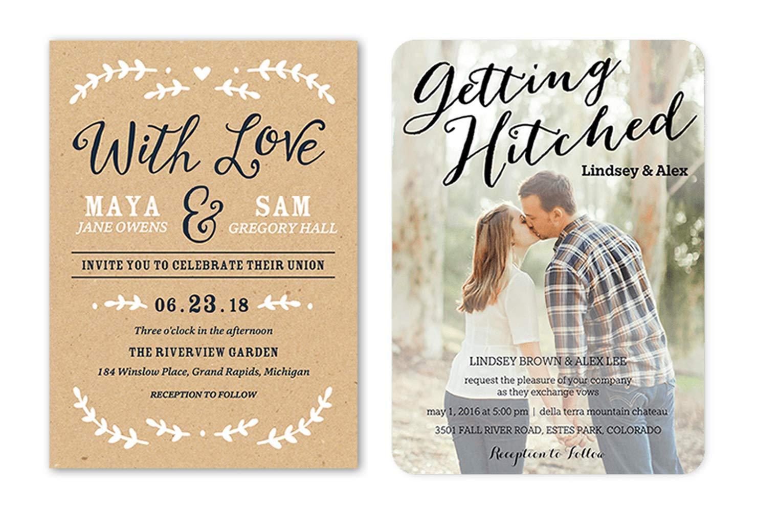 Marriage Invitation Sample