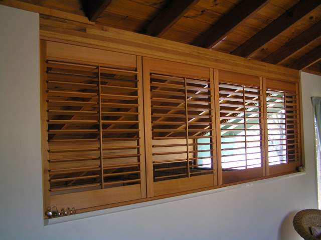 Window Shutters Wall Inside