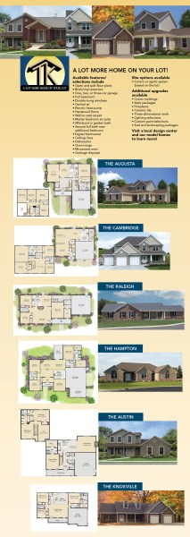 New Home Construction built by TK Constructors and presented by     Floor Plan Renderings