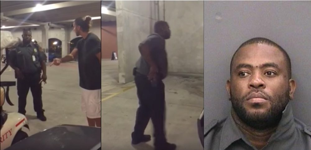 Security Guard Catches 6