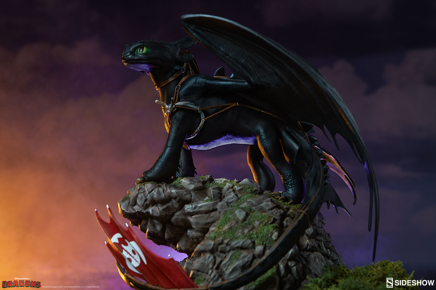 How to Train Your Dragon Toothless Statue   Sideshow ...