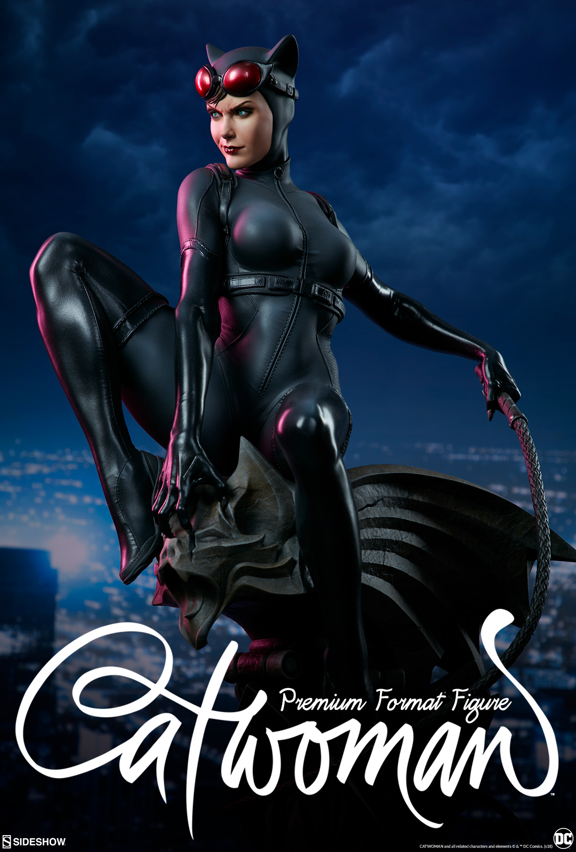 Catwoman Premium Format Figure | Sideshow Collectibles