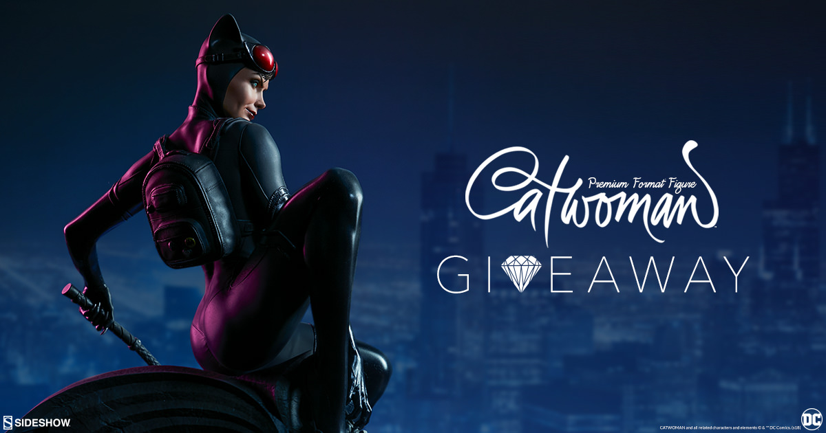 Catwoman Premium Format Figure Giveaway | Sideshow ...