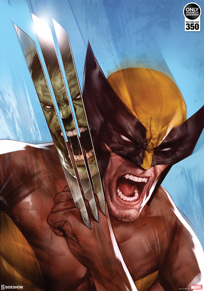 hulked out wolverine - 700×1000
