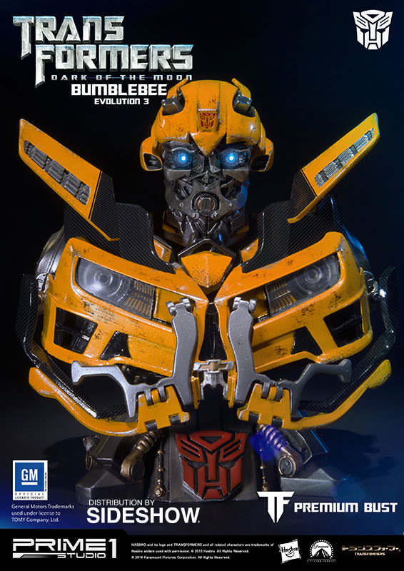 Transformers Bumblebee - Dark of the Moon Bust by Prime 1 ...