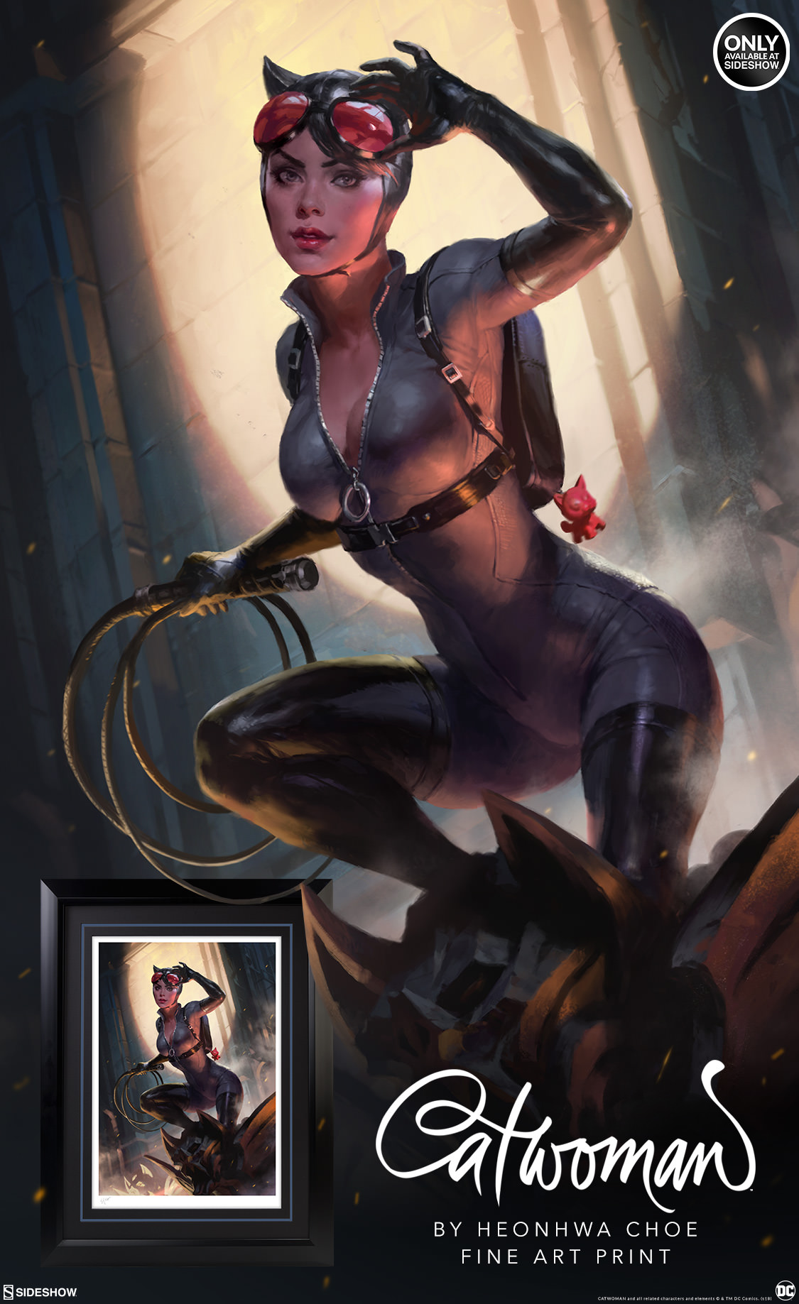 Catwoman Fine Art Print | Sideshow Collectibles