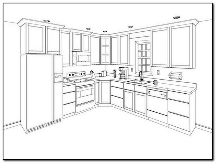 U Shaped Kitchen Layout Planner