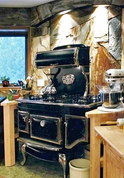 Alaska Modern Wood Cook Stove