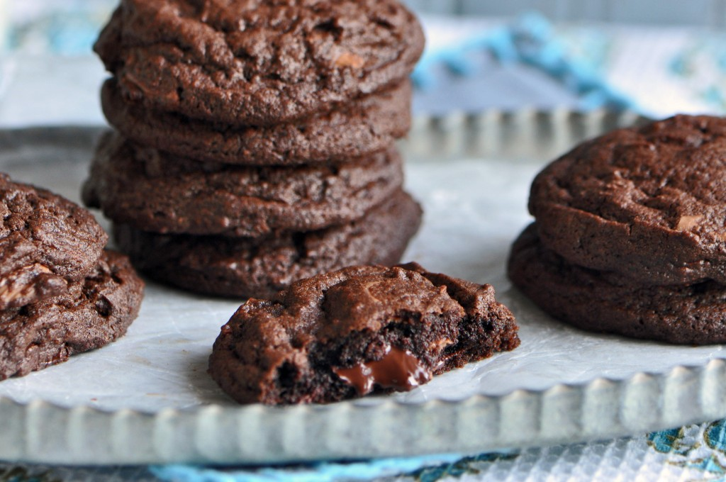 Triple Chocolate Chip Cookies Recipe Sifting Focus