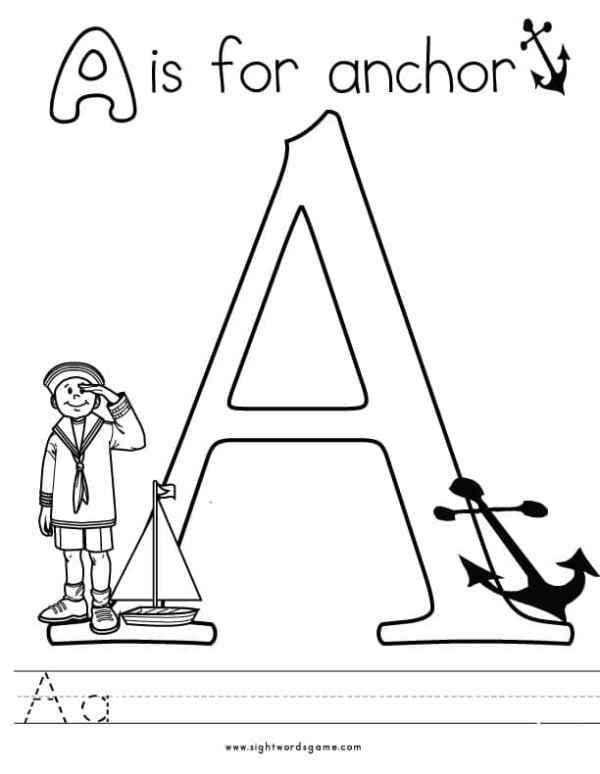 abc coloring page # 71