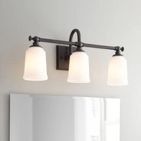 Hoxton 3 Light Vanity Light   Bathroom Antonio 3 Light Vanity Light