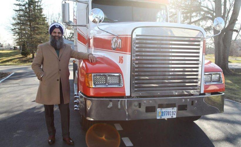 Driver Truck American Native