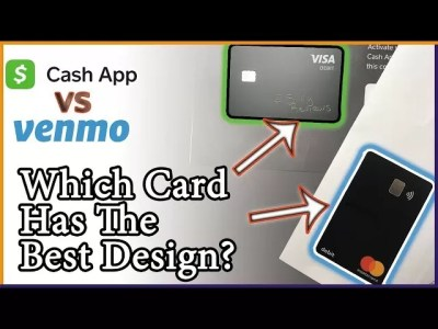 Cash App Card vs. Venmo Card; Which Looks Better - Silly ...