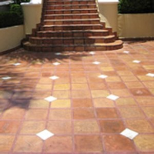 saltillo mexican floor tile   Remodels   additions from Manhattan     saltillo mexican floor tile