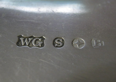 Can Anyone Identify Wg S Star B Reading Silver Hallmarks