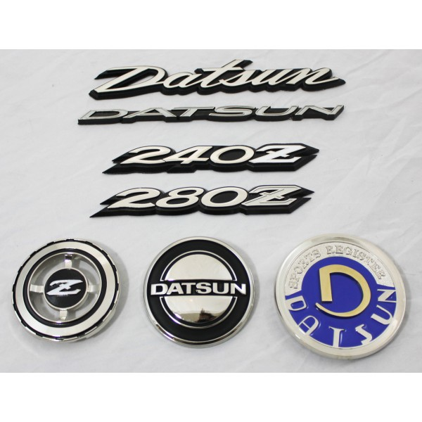 240z, 260z, 280z, emblem, hood, quarter panel, hatch, rear ...