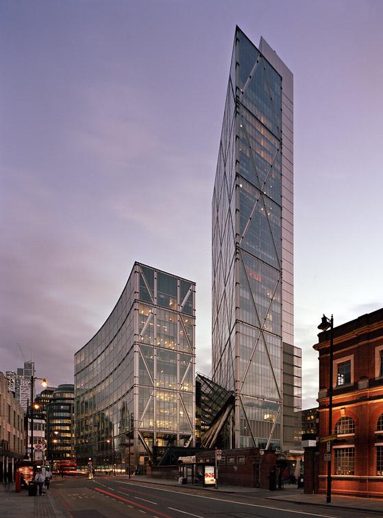 Skidmore Owings And Merrill Broadgate Tower London