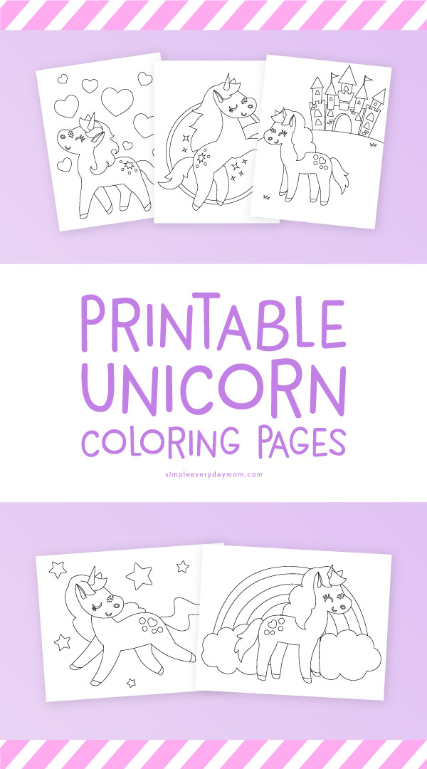 free coloring kids unicorn # 68