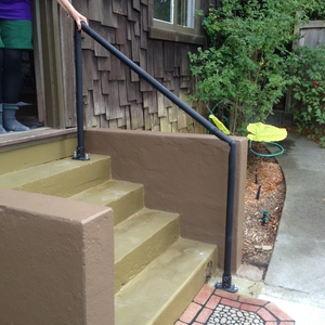 Outdoor Stair Railing Kit Buy Step Handrail Online Simplified   Outside Handrails For Stairs   Porch   Wrought Iron   Stainless Steel   Backyard   Wooden