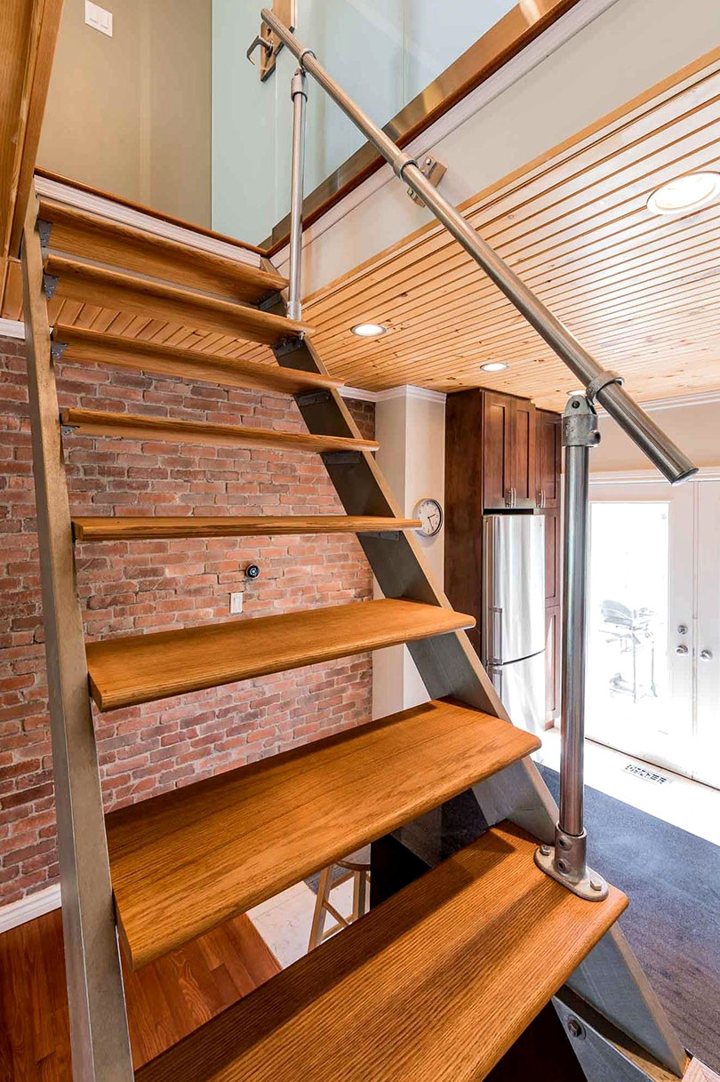25 Indoor Railing Ideas Built Using Metal Fittings Simplified | Steps Railing Designs With Glass | Terrace Staircase | Tempered Glass | Indoor | Crystal | Small Space