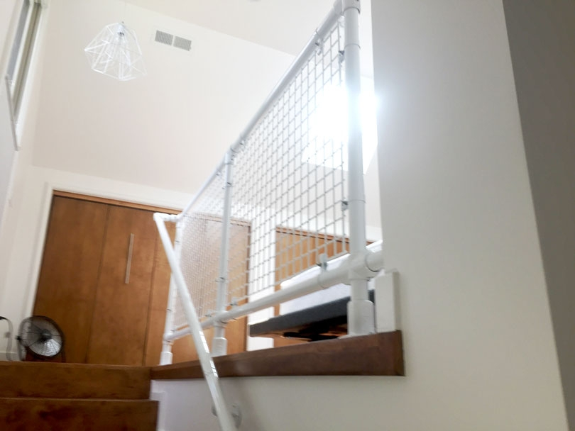 Diy Modern Stair Railing For Loft Staircase Simplified Building | Diy Modern Stair Railing | Wall Mount | Cable | Model Modern Staircase | Different Style | Contemporary