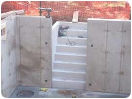 How To Guide For Pouring A New Foundation | Bilco Precast Basement Stairs | Walkout Basement | Egress | Basement Entry | Precast Concrete Steps | Basement Entrance