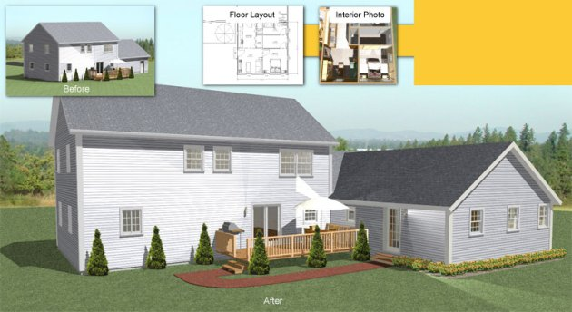 The In law Apartment Home Addition inlaw addition home extension plans mini