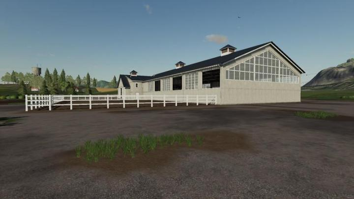 Fs19 Placeable Ridinghall V1 2 Simulator Games Mods
