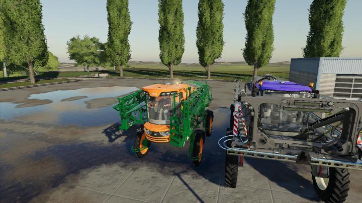 Fs19 Powered Sprayer Pack V1 Simulator Games Mods Download