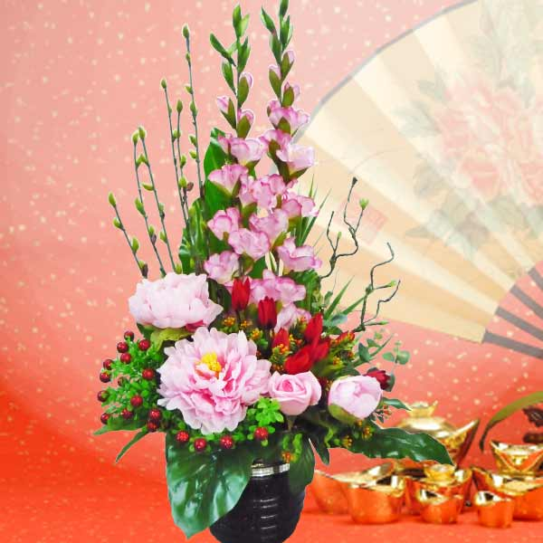 Chinese New Year Flower Delivery Singapore  Buy Lunar New Year Flowers Chinese New Year Artificial Flowers Delivery
