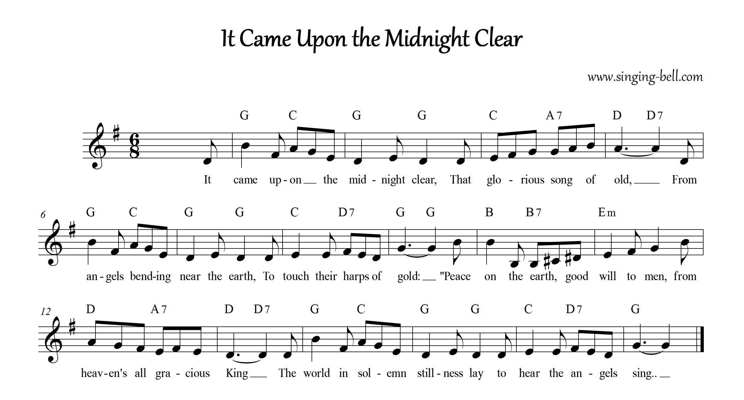 printable 12 days of christmas song lyrics - 12 Days Of Christmas Song Lyrics
